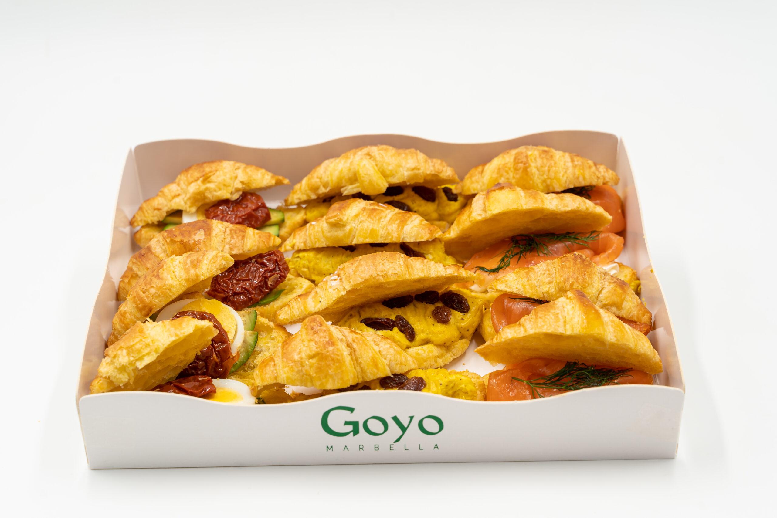 Caja surtida mini croissants Goyo (12 und)